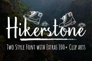 Font Deals - Powerful Script & Calligraphy Fonts for just $1 - Hikerstone prev1 -