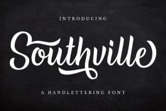 Font Deals - Powerful Script & Calligraphy Fonts for just $1 - Southville prev1.1 -