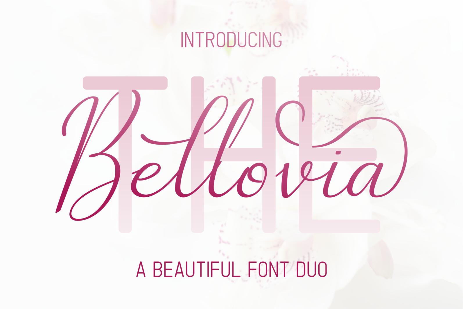 The Bellovia - Font Duo - The Bellovia Prev1 -