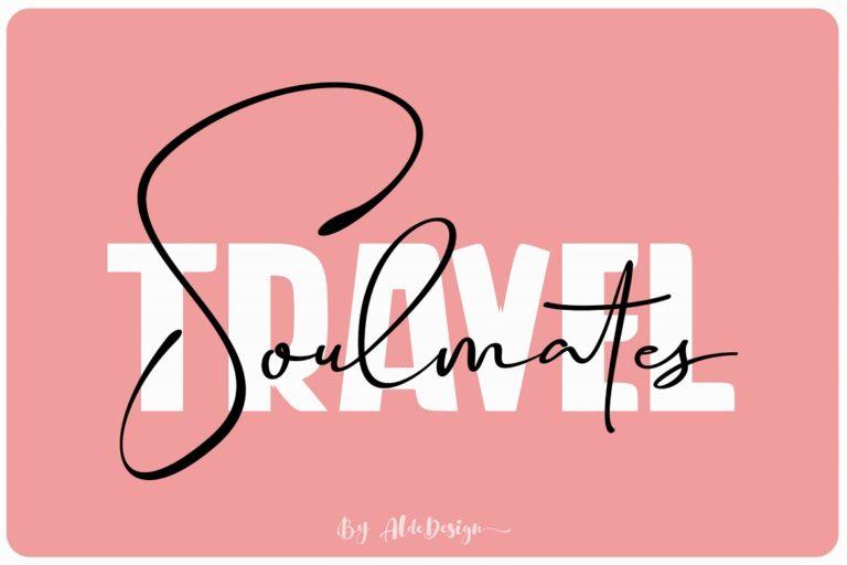 Travel Soulmates // Font Duo - Travel Soulmates 01 -