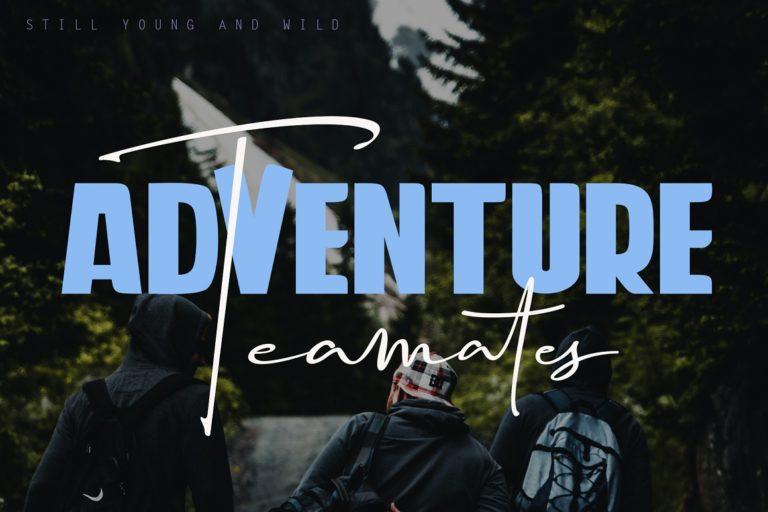 Travel Soulmates // Font Duo - Travel Soulmates 03 -