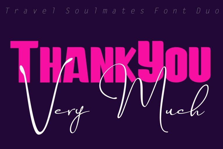 Travel Soulmates // Font Duo - Travel Soulmates 11 -