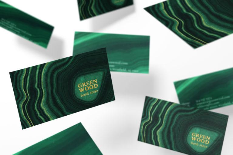 10 Malachite & Gold Mineral Textures - Green Geode Backgrounds - 18 malachite green backgrounds -