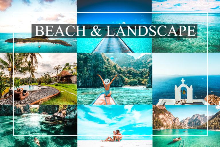 Beach & Landscape Presets Bundle for Mobile & Desktop - Cover 1 -