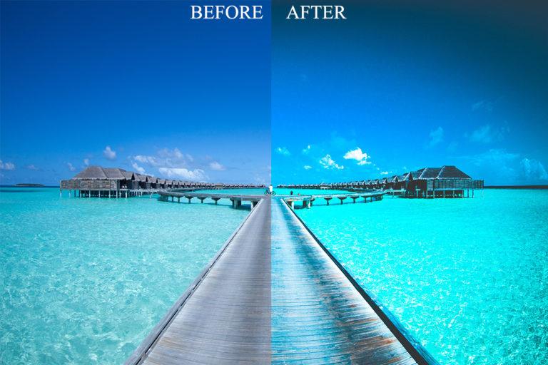 Beach & Landscape Presets Bundle for Mobile & Desktop - BevoreAfter 1 -