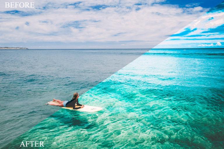 Beach & Landscape Presets Bundle for Mobile & Desktop - BevoreAfter 2 -