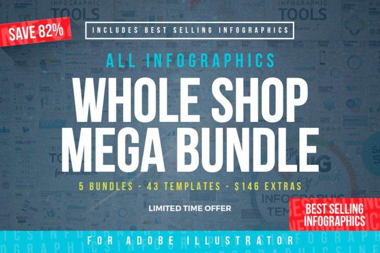 Infographic Mega Bundle - infographic templates2 -