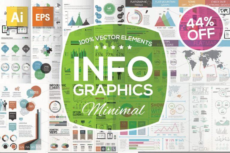 Infographic Mega Bundle - infographic starter kit cover o -