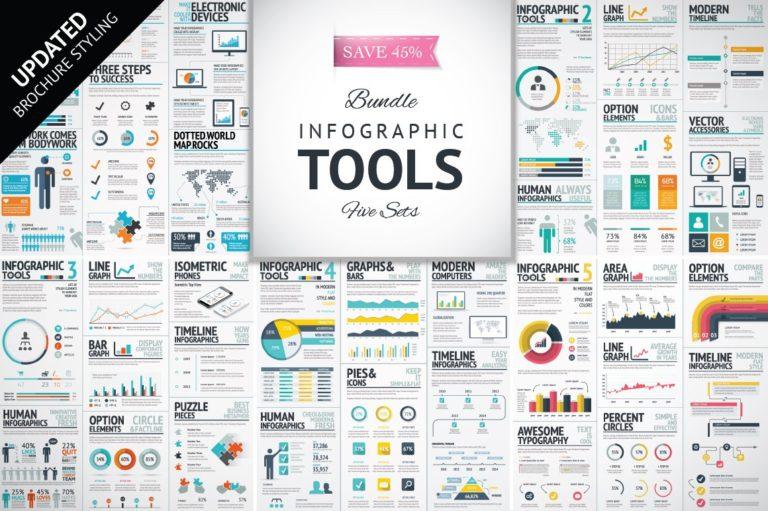 Infographic Mega Bundle - infographic template bundle update o -