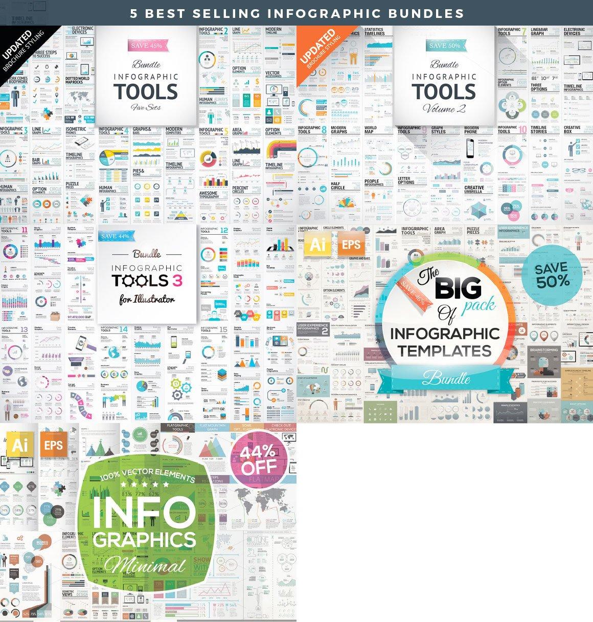 Infographic Mega Bundle - cover2 1 -