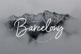 free font - Barcelony