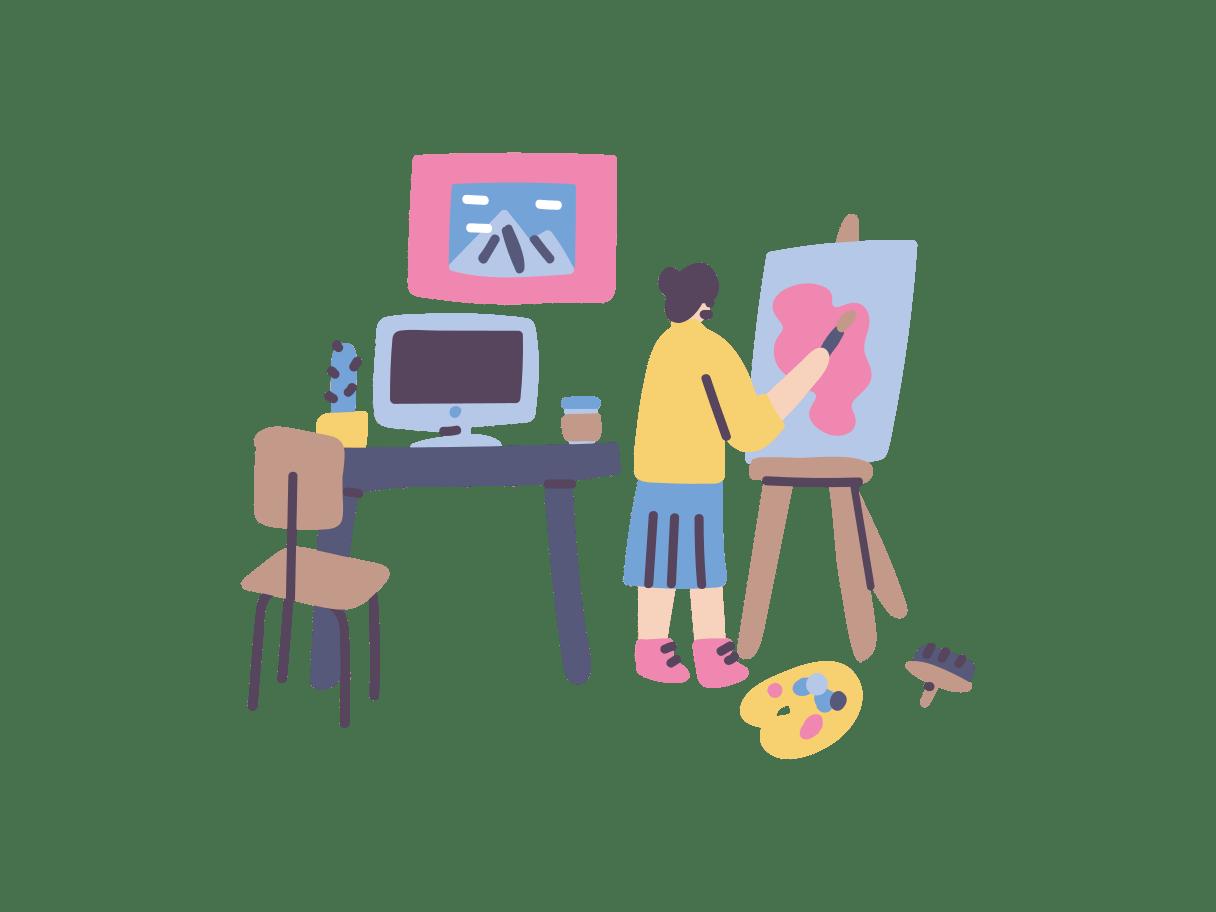 Crella Subscription - pluto artist workspace -