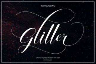 Font Deals - Powerful Script & Calligraphy Fonts for just $1 - 030 -