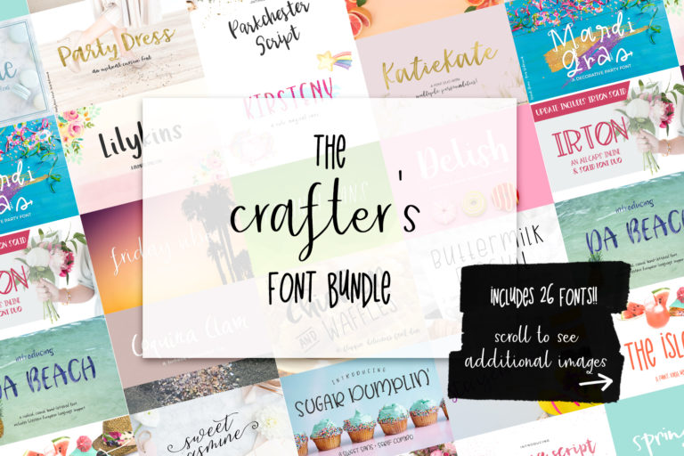 The Crafters Font Bundle - main image1 -