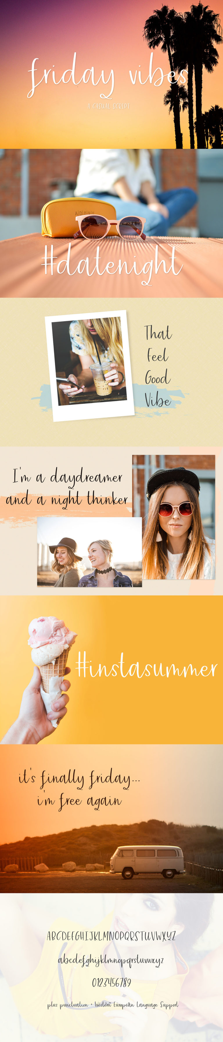 The Crafters Font Bundle - font display7 -