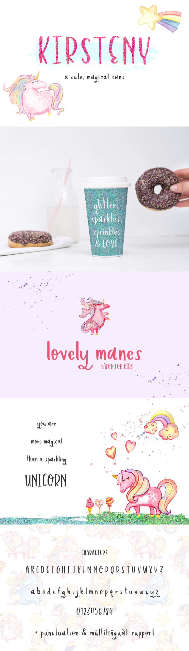 The Crafters Font Bundle - font display10 -