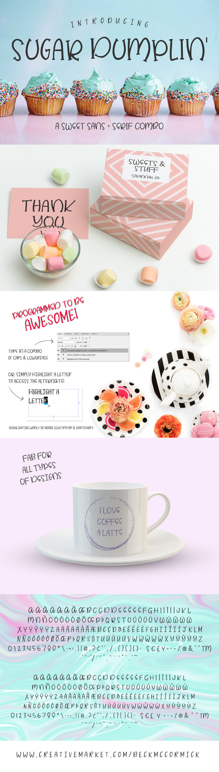 The Crafters Font Bundle - font display24 -