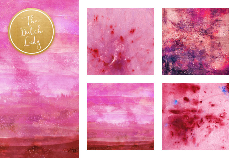 Purple Splotch - Digital Backgrounds - Printable Scrapbook Papers - .JPEG Files - watercolor -