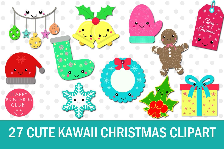 Kawaii Christmas.27 Cute Kawaii Christmas Clipart Kawaii Christmas Clipart