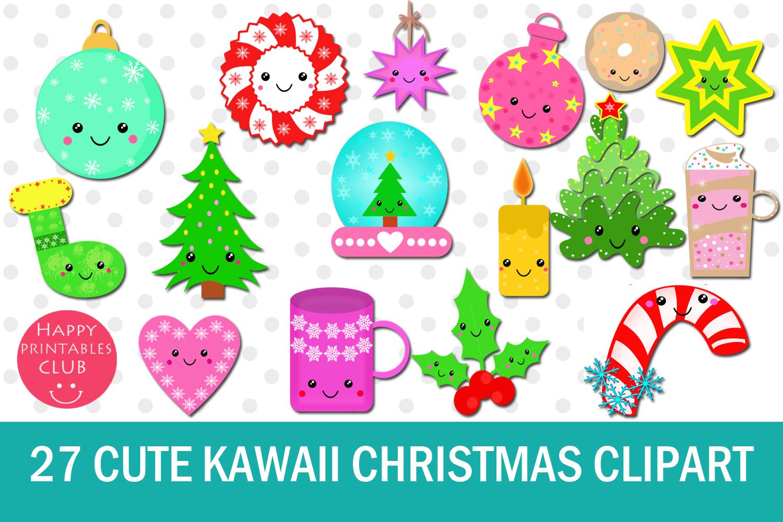 Christmas Clip Art Cute.27 Cute Kawaii Christmas Clipart Kawaii Christmas Clipart