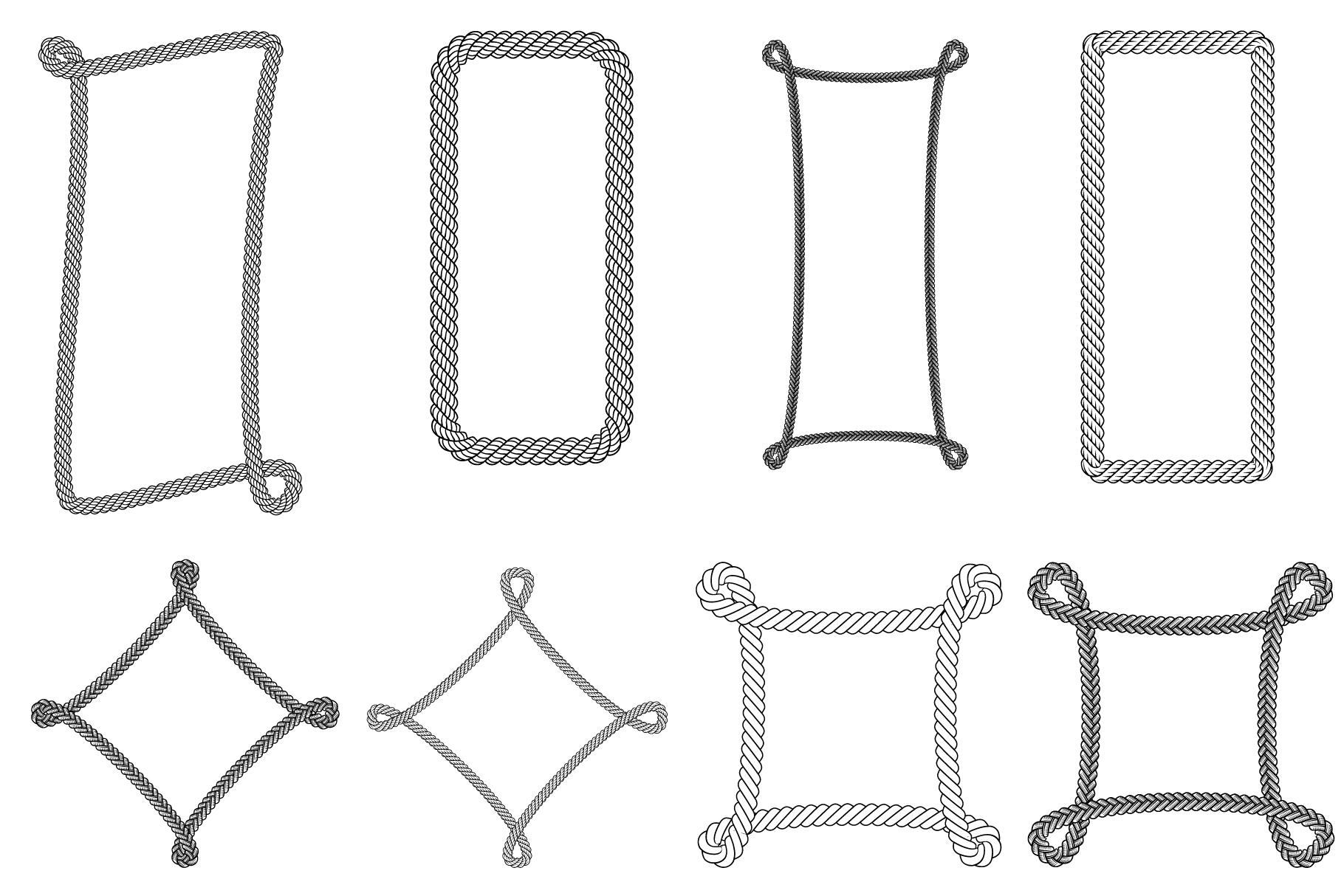 13 Rope Brush for Adobe Illustrator