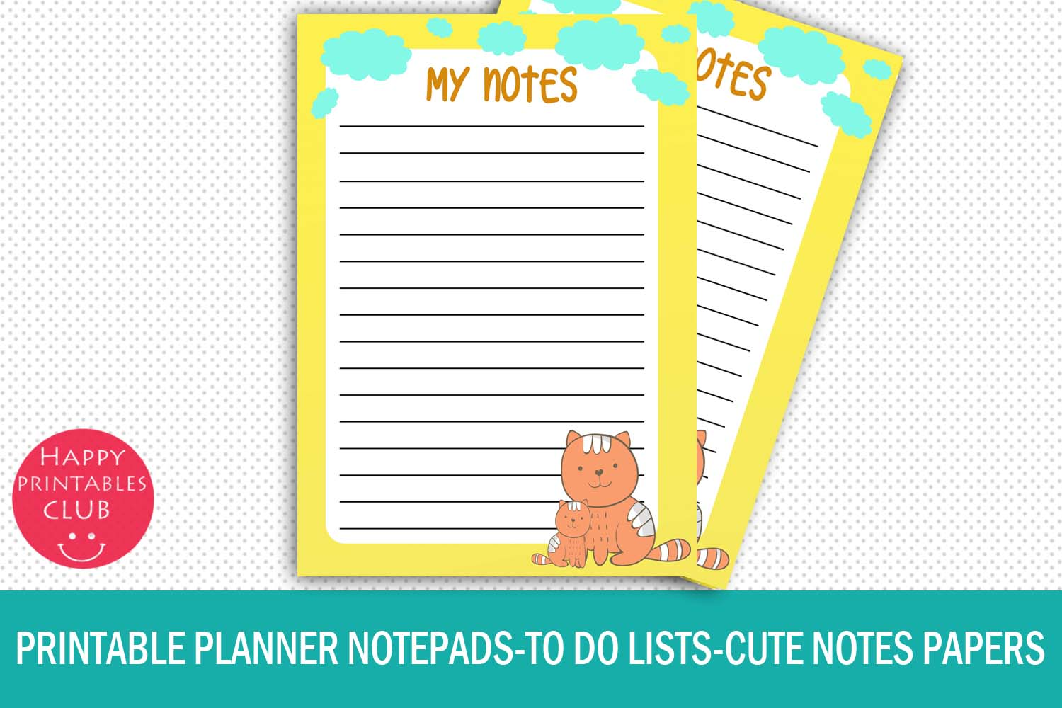 graphic regarding Printable Notepads identify Printable Planner Notepads-In the direction of Do Lists Printable Notepads
