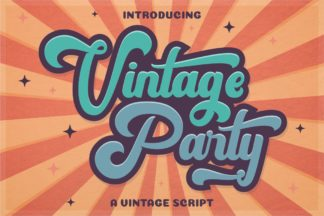 Crella Subscription - VintageParty Preview 1 -