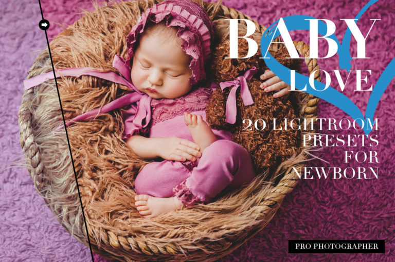Baby Love Lightroom Presets - baby love cover -