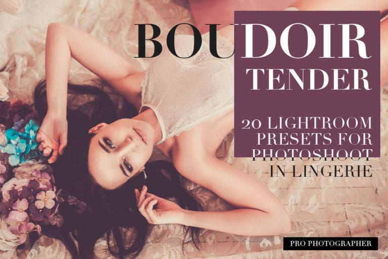 Boudoir Tender Lightroom Presets - cover11 -
