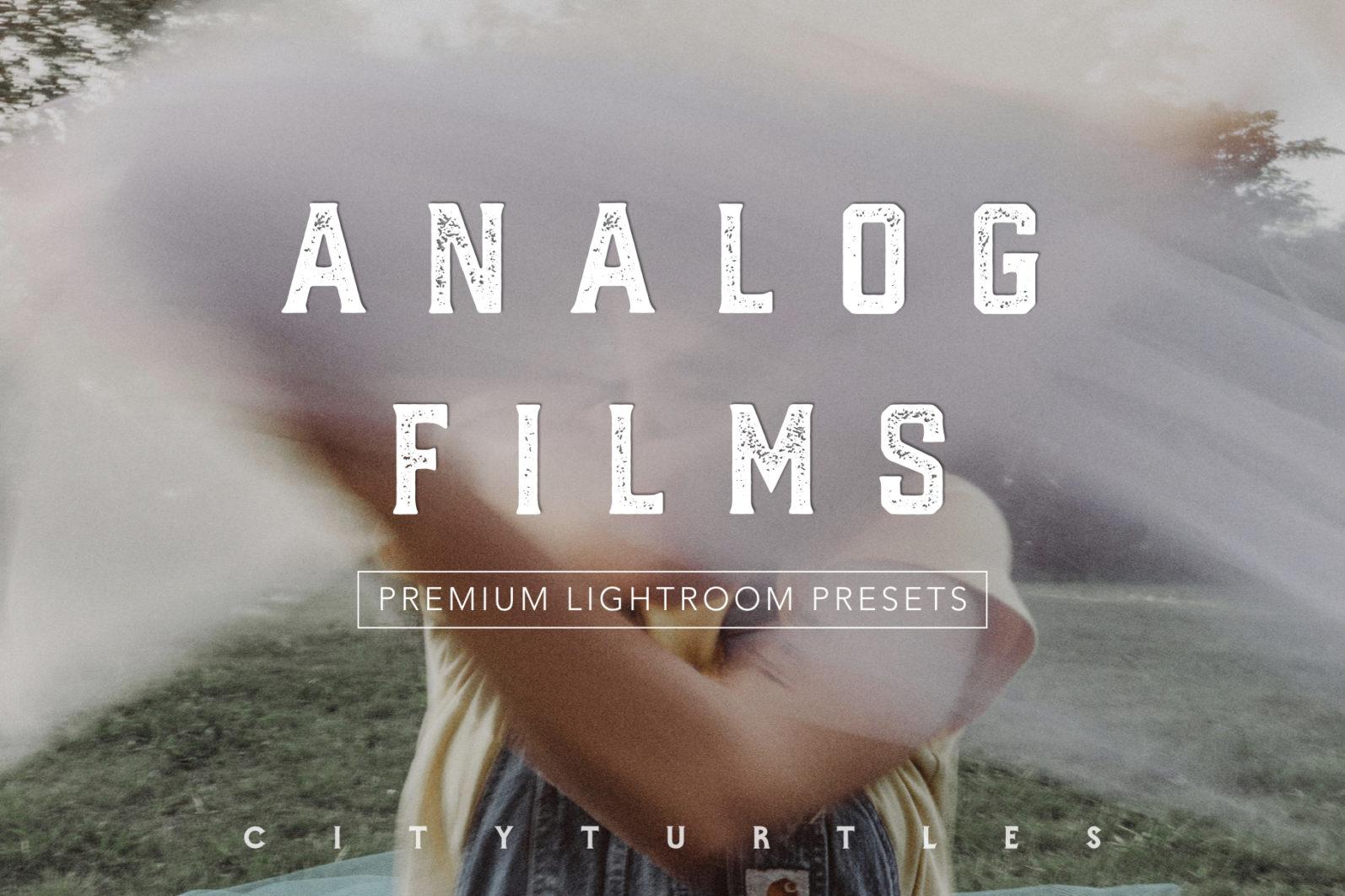ANALOG FILM Inspired Moody Lightroom Presets for Desktop & Mobile - analog film.001 -
