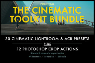 Urban Lightroom Presets - HW Cinematic Toolkit 01 -