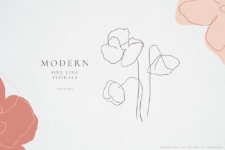 Crella Subscription - oneline florals cover -