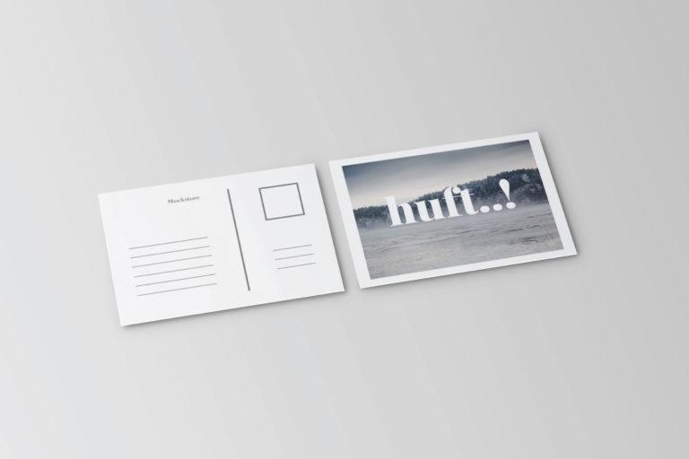 Postcard & Invitation Mockups - Postcard Invitation Mockups 4 -