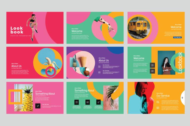 Lookbook Pastel Powerpoint - image3 -