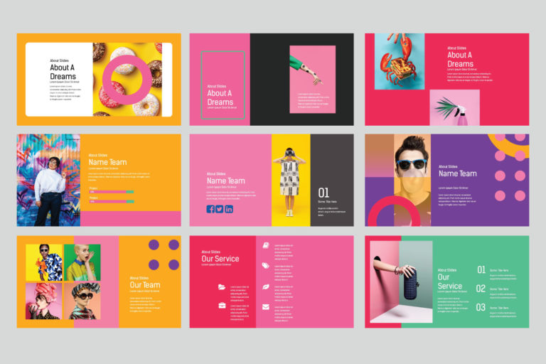 Lookbook Pastel Powerpoint - image5 -
