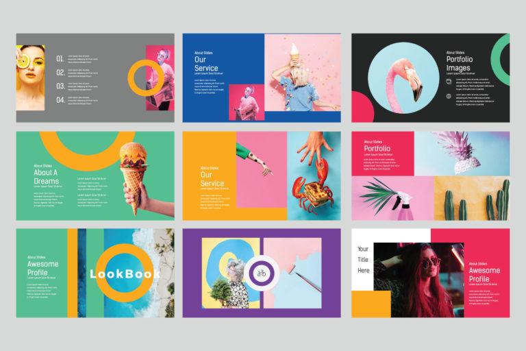 Lookbook Pastel Powerpoint - image6 -