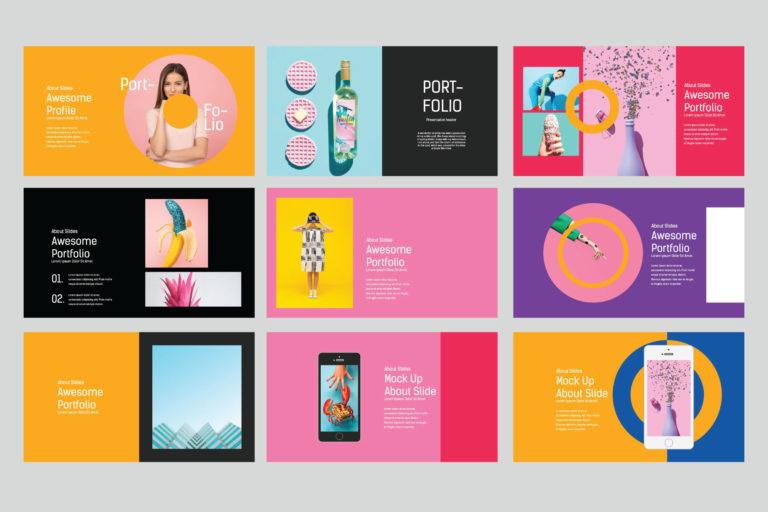 Lookbook Pastel Powerpoint - image7 -