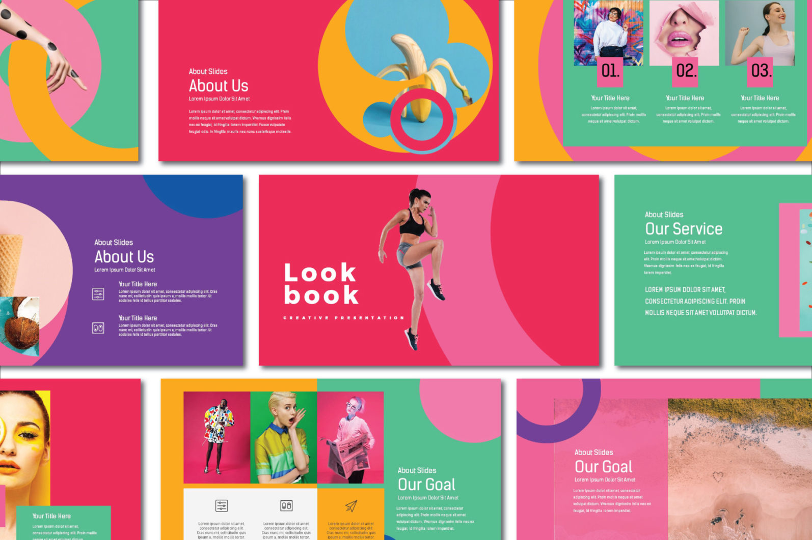 Lookbook Pastel Powerpoint - image pertama -