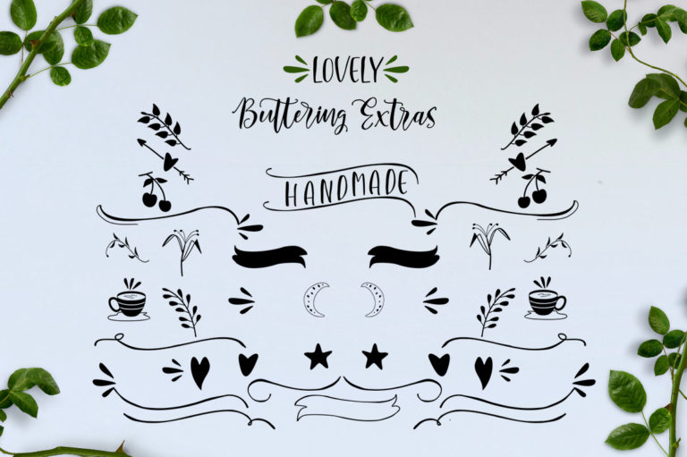 Lovely Buttering-Font Duo - 72 -
