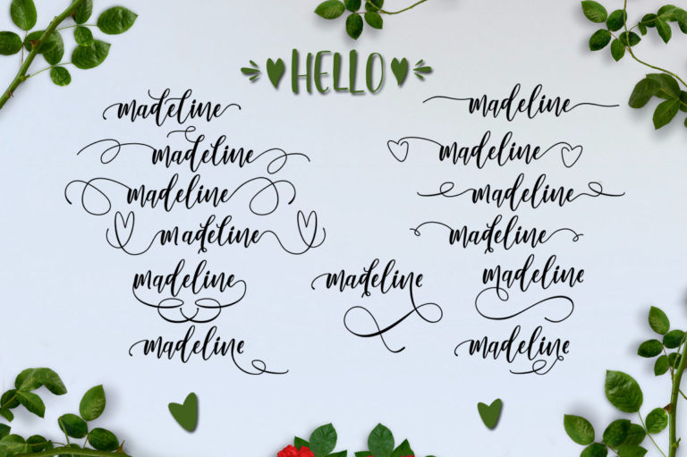 Lovely Buttering-Font Duo - 141 -