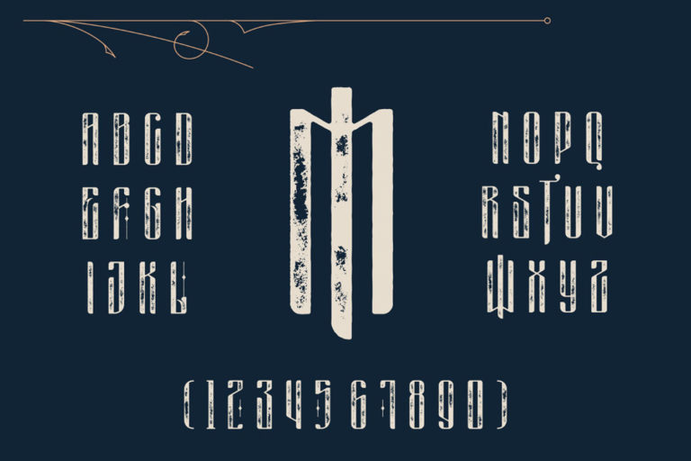Free Masquerouge Victorian Display Font - masquerouge 4 -