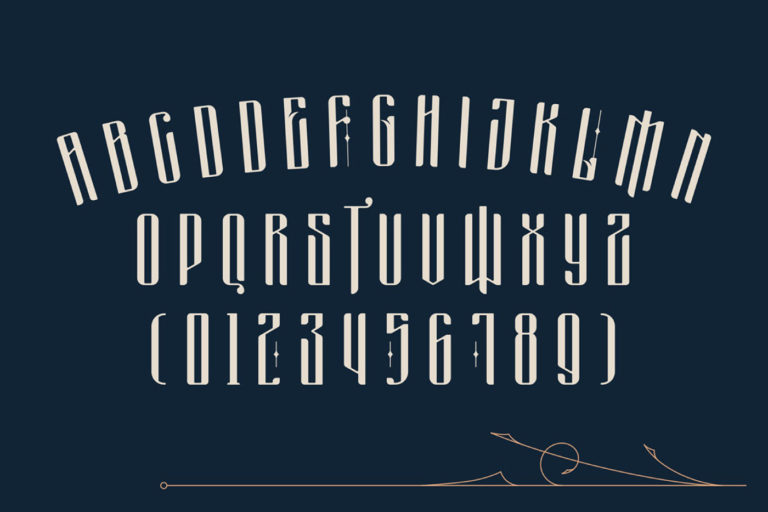 Free Masquerouge Victorian Display Font - masquerouge 3 -