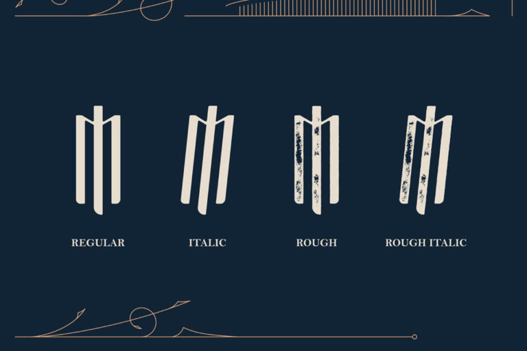 Free Masquerouge Victorian Display Font - masquerouge 2 -
