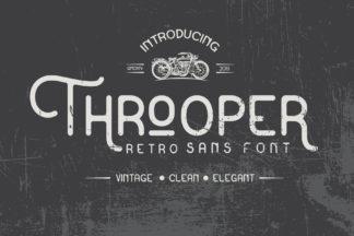Crella Subscription - Throoper Font preview1 -