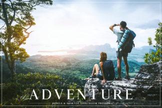 Lifestyle Lightroom Presets - Adventure Mobile Lightroom Presets Cover -
