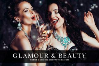Free Lightroom Presets - Glamour Beauty Mobile Desktop Lightroom Presets Cover -