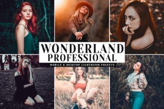 Lifestyle Lightroom Presets - Wonderland Professional Mobile Desktop Lightroom Presets Cover -