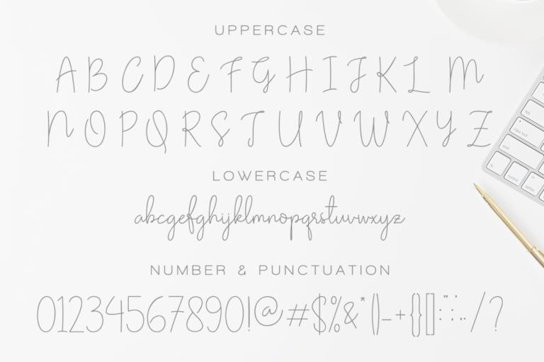 Olivia - Elegant Monoline Script - Artboard 116 -