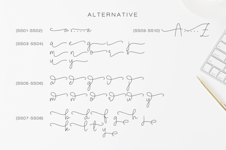 Olivia - Elegant Monoline Script - Artboard 125 -