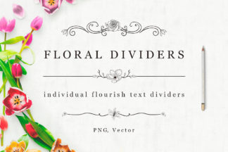 All Freebies - Flourish Dividers first image -